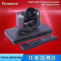 TEVO-HD9820B high quality super mini webcam live chat for x .video usb ptz camera hd free driver usb webcam with mic