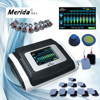 10 Groups Touch Screen EMS Muscle Stimulation Training