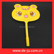 Advertising Gift Fans Design Yellow Coat Bic Ball Pen