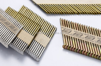 75mm 34 degree D head EG ring shank paper strip framing nails