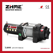 ZHME X4000 4000lbs pulling DC 12V ATV Winches for Sale