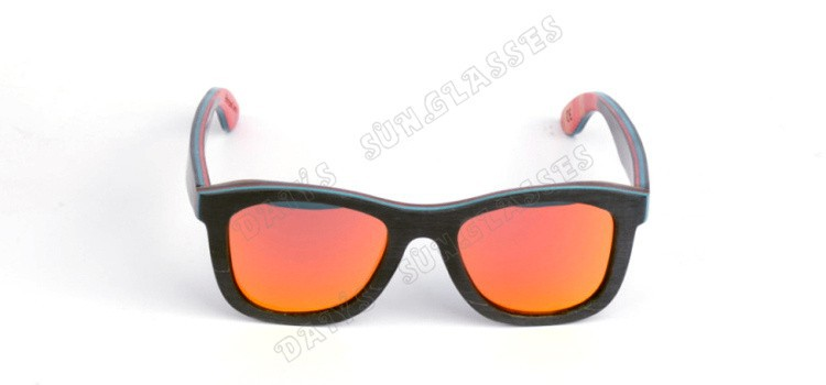 New Sport Vintage Wooden Sunglasses Polarized Fashion Outdoor