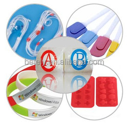 High performance two-component medical grade silicon for tubing