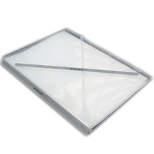 Clear plastic holder