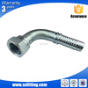 Carbon Steel Crimping Hydraulic Hose Fitting