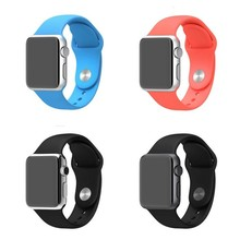 Hot sale Silicone Watch Band Wrist Strap For Apple Watch
