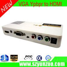 VGA RCA TO HDMI CONVERTER, hot vga rca adapter