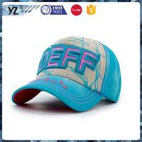 Factory Popular long lasting baseball cap baseball hat headwear from manufacturer