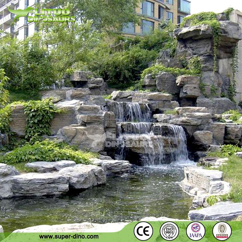 Jardin d coration artificielle rocher cascade produits en pierre jardin id de produit - Cascade de jardin castorama lyon ...