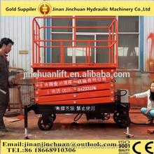 1.35~14m, 0.3 ton car scissor lift /portable hydraulic scissor /stationary scissor lift platform