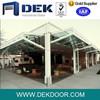Vertical Aluminum & Glass Bi-folding Door
