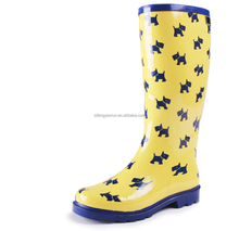 Cheap but good quality kids rain boots neoprene dog boots