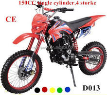 high speed single cylinder 4 storke 150CC dirt bike with Electric start & kick start