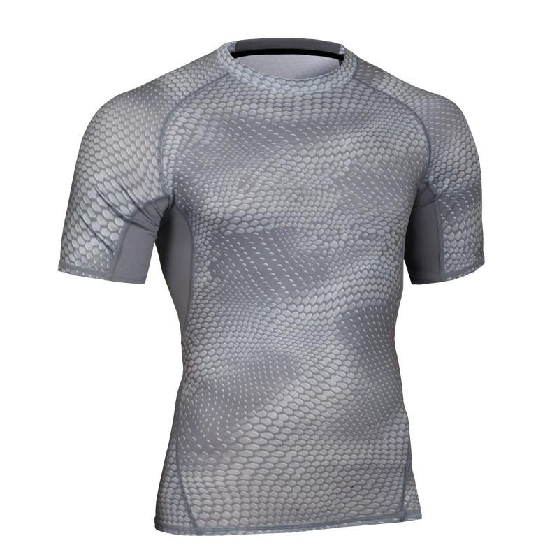 Custom Fitness Apparel Men's GYM Sport T Shirt Factory 7