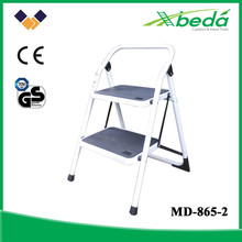 Qualified folding steel ladder China exporter from Yongkang (MD-865-2)