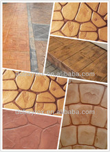 IRON OXIDE PIGMENTS FOR decorative stamped concrete