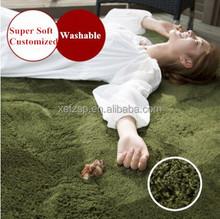 high quality polyester shaggy rug