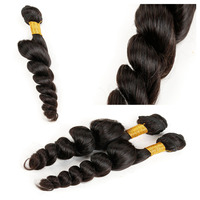 BSD New arrival unprocessed human hair extension in dubai, noble weaving hair