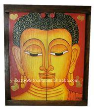 Bhudda Window Mirrors