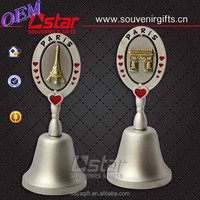 Beautiful metal dinner bell with free design