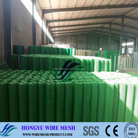 pvc coated welded wire mesh panels/welded wire mesh panel