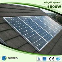 1500W 48v very large quantity supplied Complete solar home station systemfactory supply