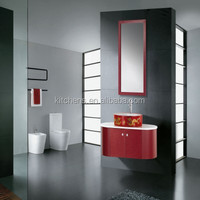 Western 304 Stainless Steel Red Bathroom Vanity MA-302