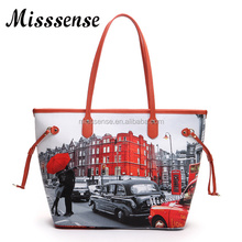 vanity hand bag tote bag pu shopping bags from china factory