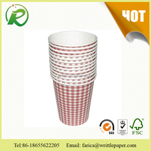 health eco friendly 180ml paper beverage containers
