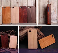 hotsell new luxury wood mobile phone case for iphone6 wood cell phone case,walnut wood case for iphone 5