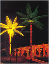IP65 landscape LED coconut tree palm tree for both indoor& outdoor use