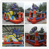 Professional motorcycle racer inflatable adult bounce house