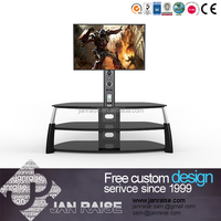 High quality universal antique glass tv stand