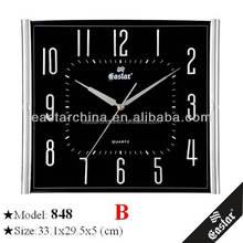 Custom acrylic clock dials to print