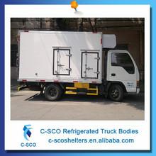 Personalizado ice cream vans usado refrigerado vans para venda