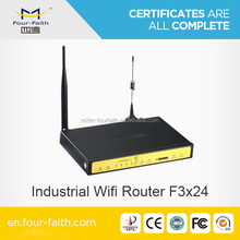 F3424 Cellular WCDMA router with sim card slot for bus stop wifi application m