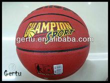 2013 pvc shiny leather basketball