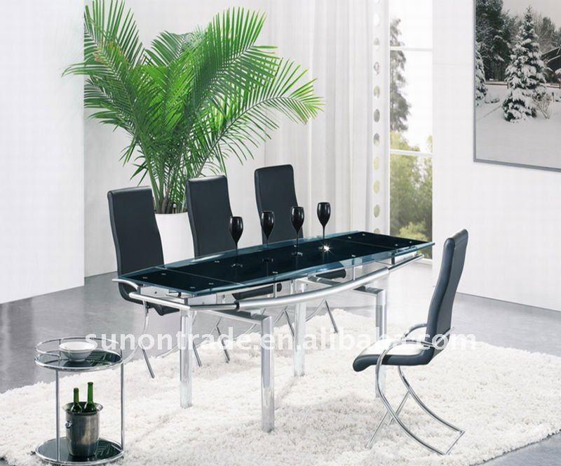2012 modern 8 plazas de comedor de mesa