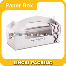 2015 new style custom packaging gift paper speciality cakes box