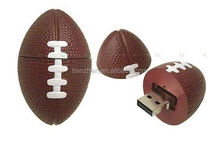 flash usb drive 2.0,football pvc usb ,usb memory with optional logo