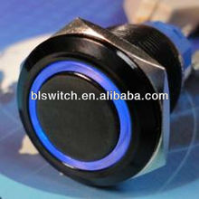 Pushbutton, Standard Bezel, Lighted, 2 Incandescent Lamp, 4.5-24 Vdc Sinking, Momentary Action, Snap in panel mount