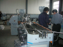 pe single wall corrugated pipe machine
