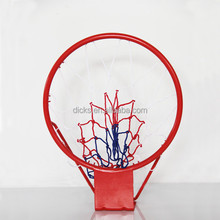 "Mini Steel 16"" Basketball Ring With 10 Hooks"