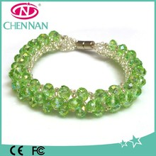 Yiwu Hot Sale Murano Glass Bead Bracelet For Woman Decoration