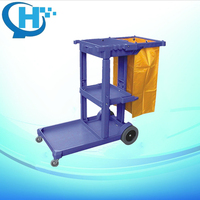 Multifunctional high-quality Janitors Cart cleaning trolley
