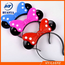 New design luminous princess headband luminous bow headband