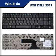 Laptop keyboard factory offer for dell 3521 series