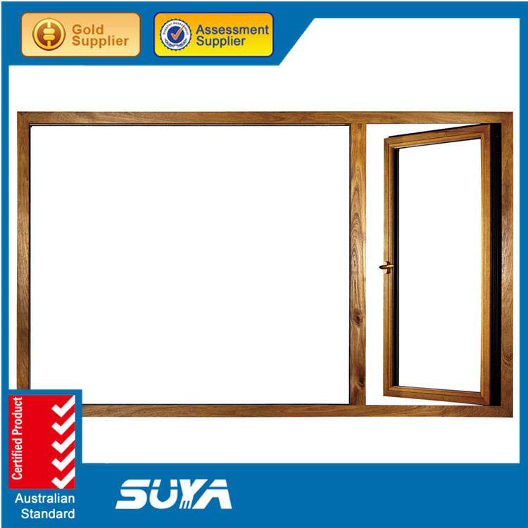2015 Pvc Brand Windows Pvc Frame Glass Top Hung Exterior