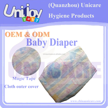 Hot Selling Disposable diaper for baby export to Asia and Africa