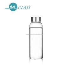 wholesale 300ml borosilicate glass bottle water bottle N6273